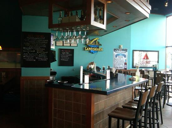 Blue Pacific Grill: We feature a fullbar with drink specials