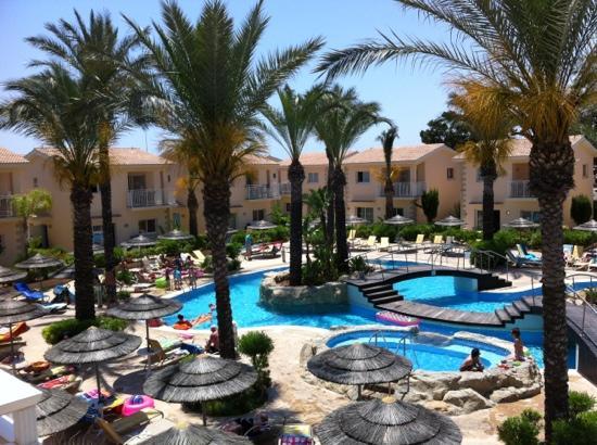 Tasia Maris Gardens Apartments: view from apartment 22B
