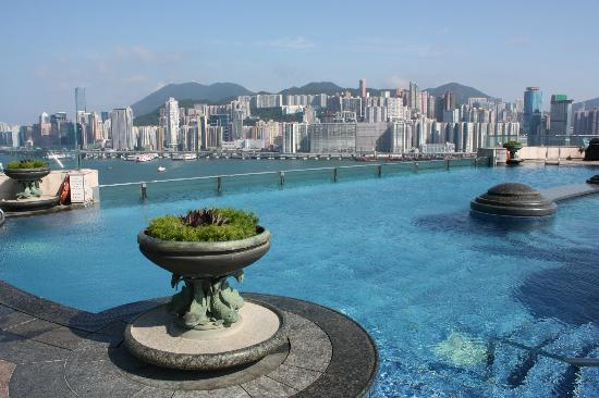 Another view from the rooftop pool picture of harbour grand kowloon hong kong tripadvisor for Bruges hotels with swimming pools