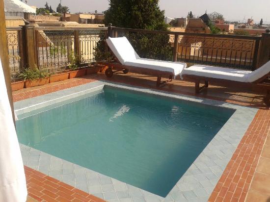 Piscina sul terrazzo - Picture of Riad BB Marrakech, Marrakech ...