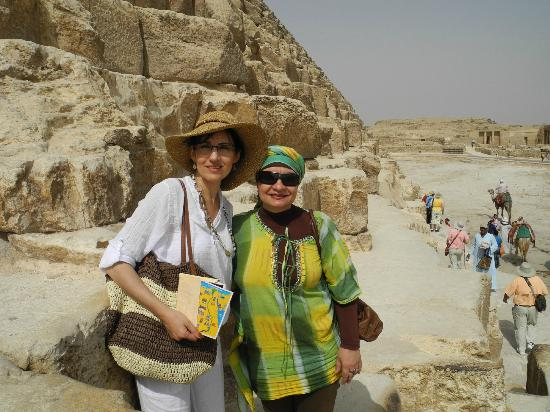 Around Egypt Tours - Day Tours: Giza - Fatma in green