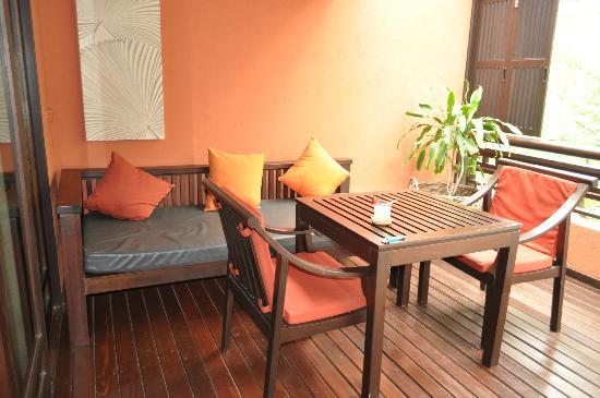 Bo Phut Resort & Spa: Terraza habitación
