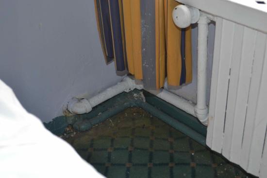 Hotel Carter: estado de conservação do quarto