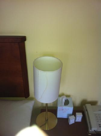 The Marine Hotel: lamp shade