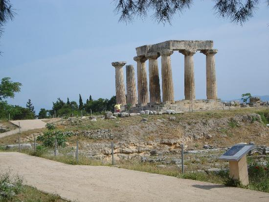 Athens Tours Greece : Ruins in Corinth