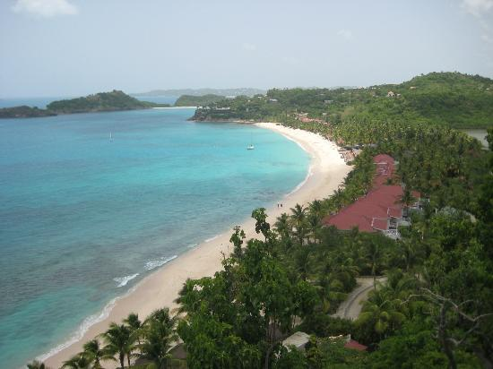 Galley Bay Resort: view from lookout
