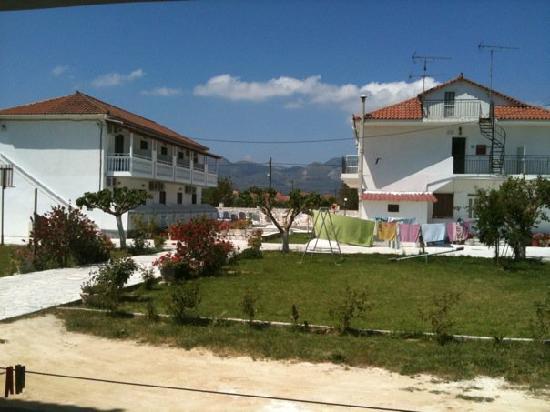 Tassia Studios (apartment blocks near the pool)