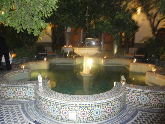 Palais Amani: Fountain