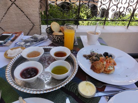 Palais Amani: Breakfast