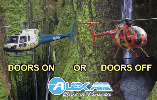 AlexAir Helicopters & West Maui- Molokai Doors off! - Review of AlexAir Helicopters ...