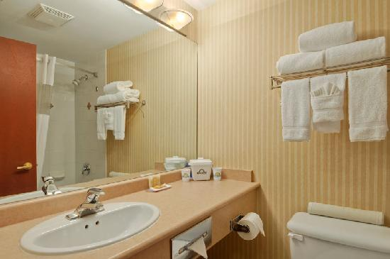 Days Inn - Vancouver Airport: Guestroom Bathroom