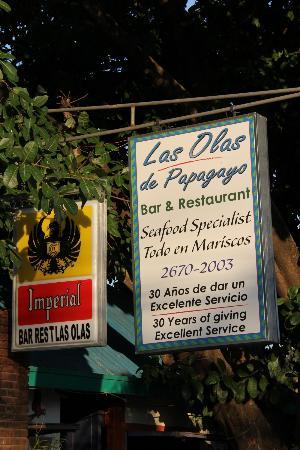 Restaurante Las Olas: Seafood Restaurant in Coco