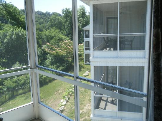 Suites at Fall Creek: View of a few other buildings from balcony