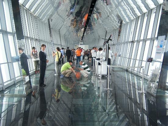Daytime Skywalk Picture Of Shanghai World Financial