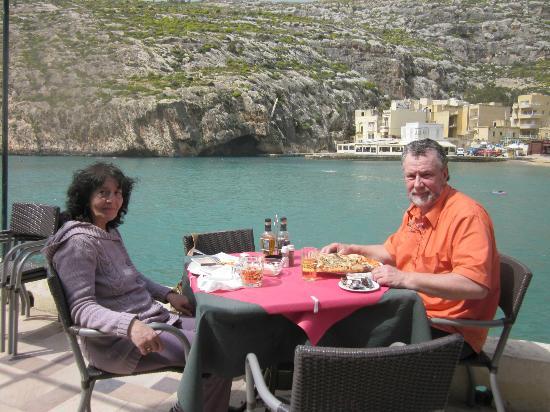 Churchill Restaurant: April 2012, aufgenommen vom Kellner