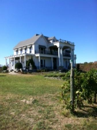 Tara Vineyard & Winery: Clint Murchison mansion at Tara Winery