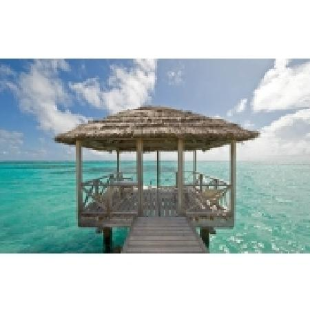 Petit St. Vincent Resort: Atlantic pier