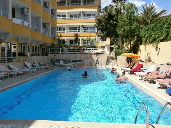 бассейн Bild Von Muz Hotel Alanya Tripadvisor