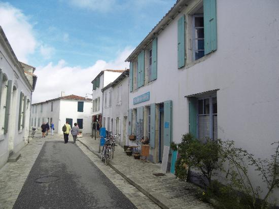Hotel La Galiote : Hotel Rue