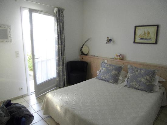 Hotel La Galiote : Bedroom