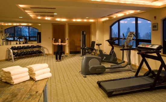 Edelweiss Lodge & Spa: Exercise Room at the Edelweiss Spa
