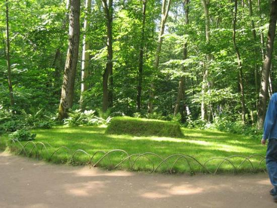 Tula, Ryssland: Tolstoy's grave