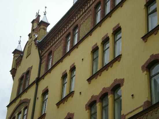 Hameenkatu: угол здания на Хямеенкату