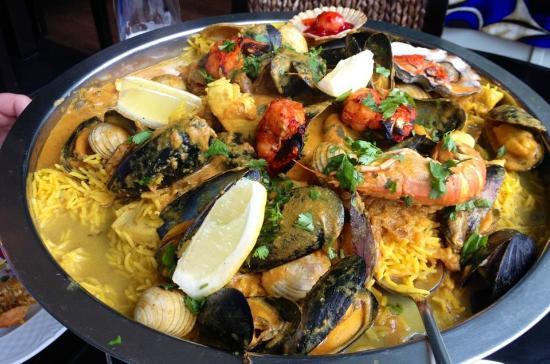 Guchhi Indian Restaurant: Sea food paella