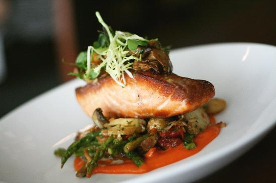 Waypoint Seafood and Grill: Oven Roasted Salmon