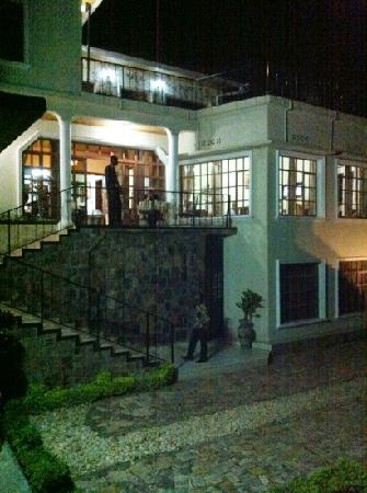 Golf Hills Residence: Residence 2, evening view with lovely outside balcony for emailing or reading. Flat screen tv ro