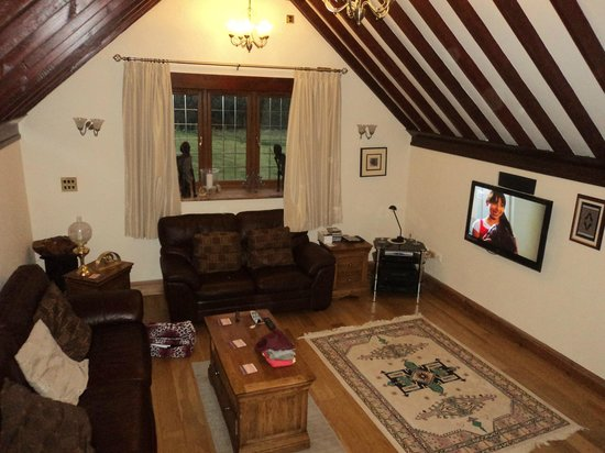 The Old Chaff Mill:                   Living Room