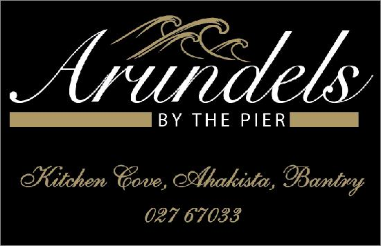 Arundels by the Pier: Business card