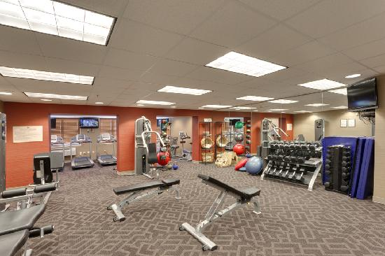 University Guest House & Conference Center: Fitness Room