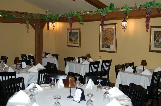 Inside view of cervia room picture of villa ravenna fine for Romantic restaurants in tulsa