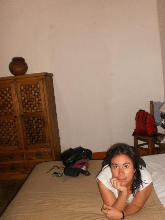 Hostal Casa del Sol Oaxaca: cama