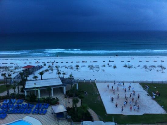 Hilton Pensacola Beach: Aussicht