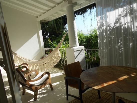 Hotel Santa Teresa - Relais & Chateaux: varanda do nosso quarto