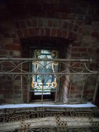 Historic Webster House: Stained Glass in room
