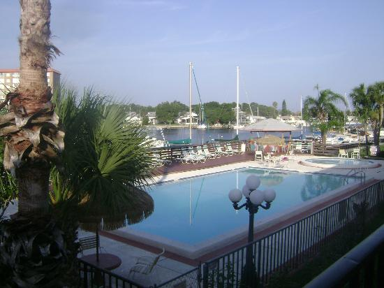 Magnuson Hotel and Marina New Port Richey: the view from our balcony