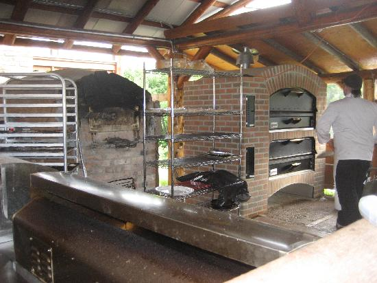 Merridale Bistro: al forno ovens outside