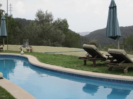 Masia Sumidors: View from the pool