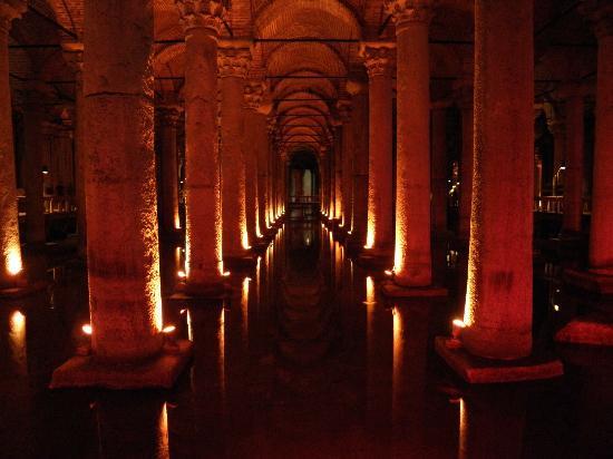 Sultanahmet Palace Hotel : 10 Genhminiten zur alten Zisterne