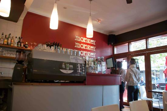 Three Monkeys Cafe: Inside 3 Monkeys