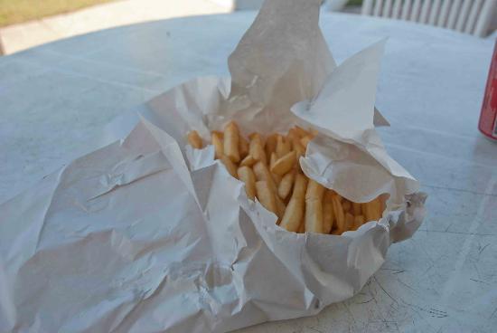 Ridge Street Takeaway: Excellent chips