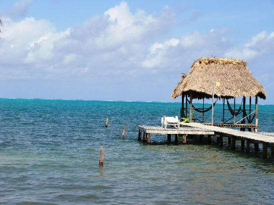 Barefoot Beach Belize: The beautiful pier!