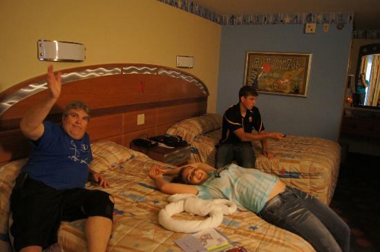 In The Room Picture Of Disney S All Star Sports Resort