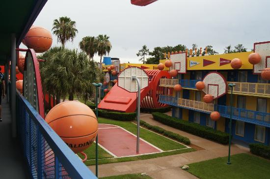 Hoops Section Picture Of Disney S All Star Sports Resort
