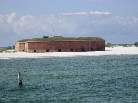 Ship Island Excursions: Fort Masachusetts