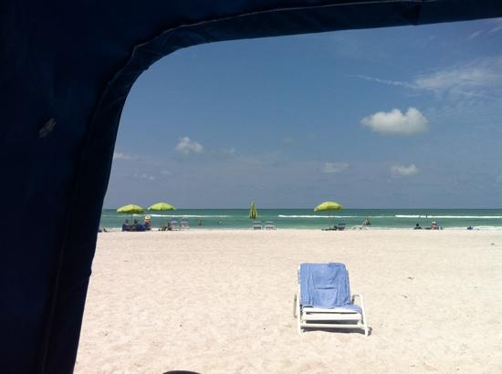 Resort at Longboat Key Club: the beach
