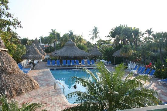 Holiday Inn Key Largo: tiki hut and pool
